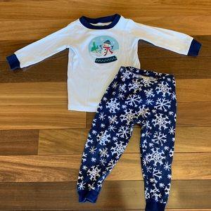 Gymboree 2 piece winter pajamas size 2T